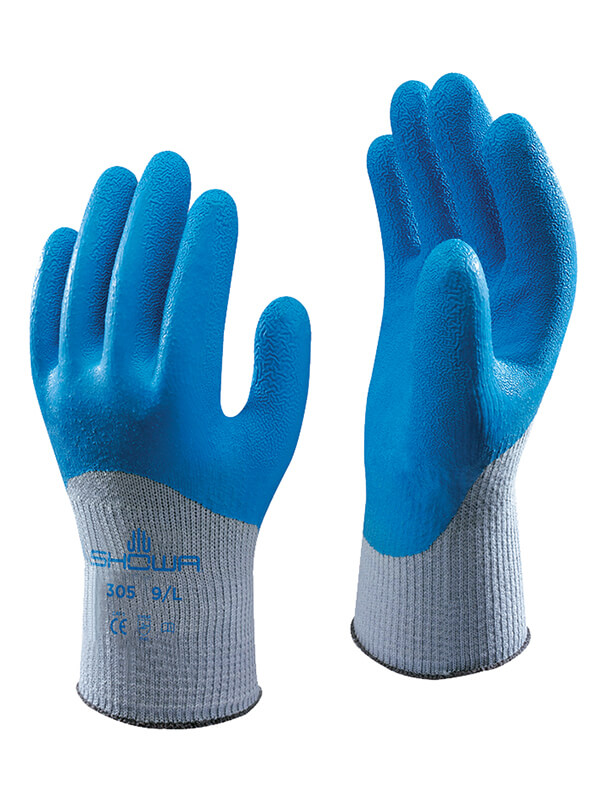 SHO305 SHOWA 305 LATEX COATED GLOVES