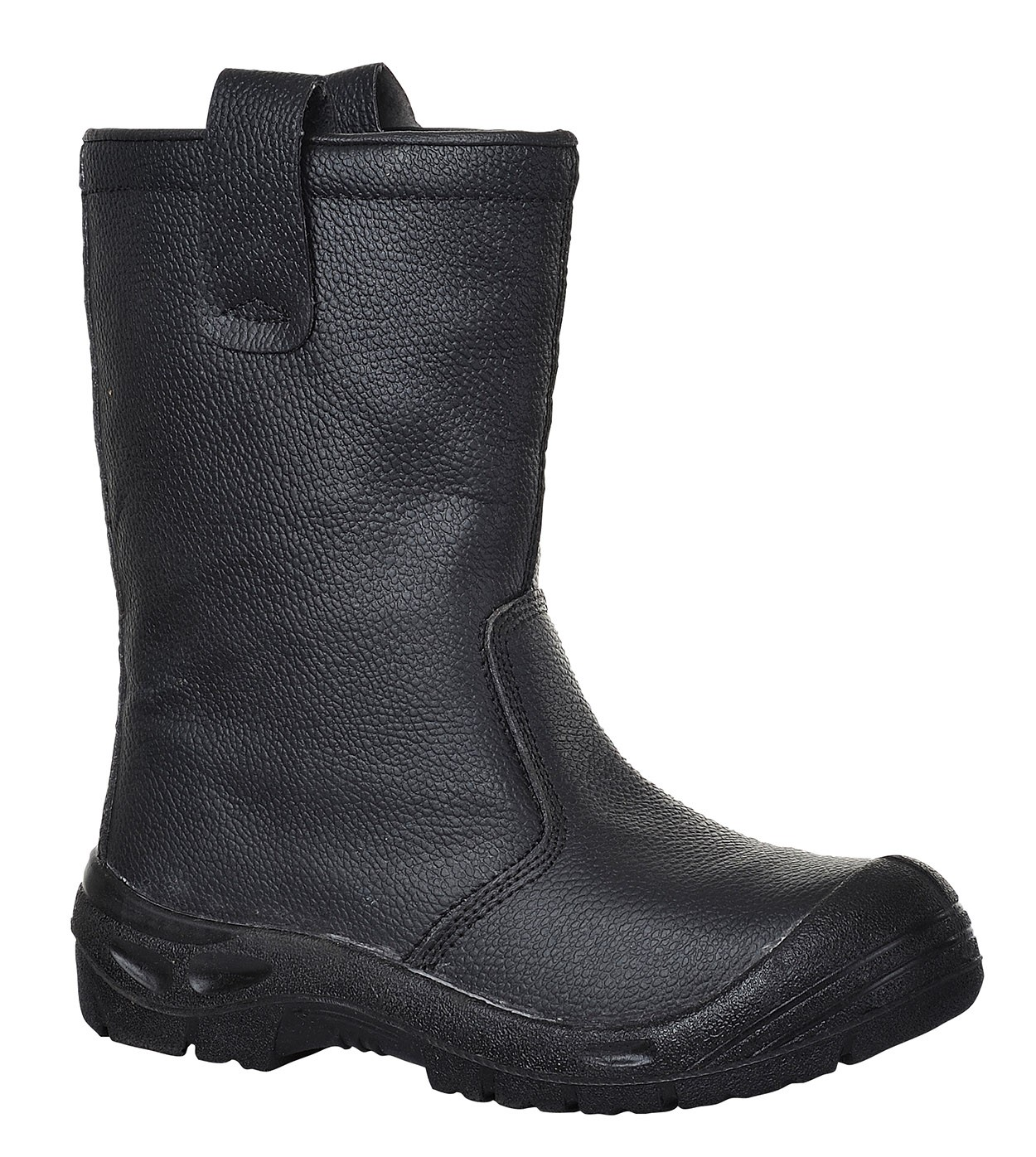FW29/B STEELITE RIGGER BOOT BLACK