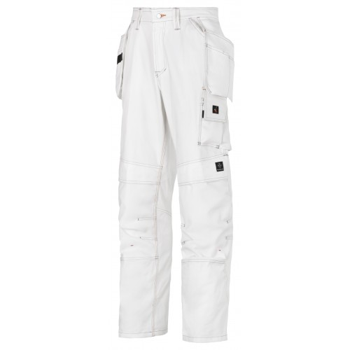 32750909R PAINTERS TROUSERS WHITE