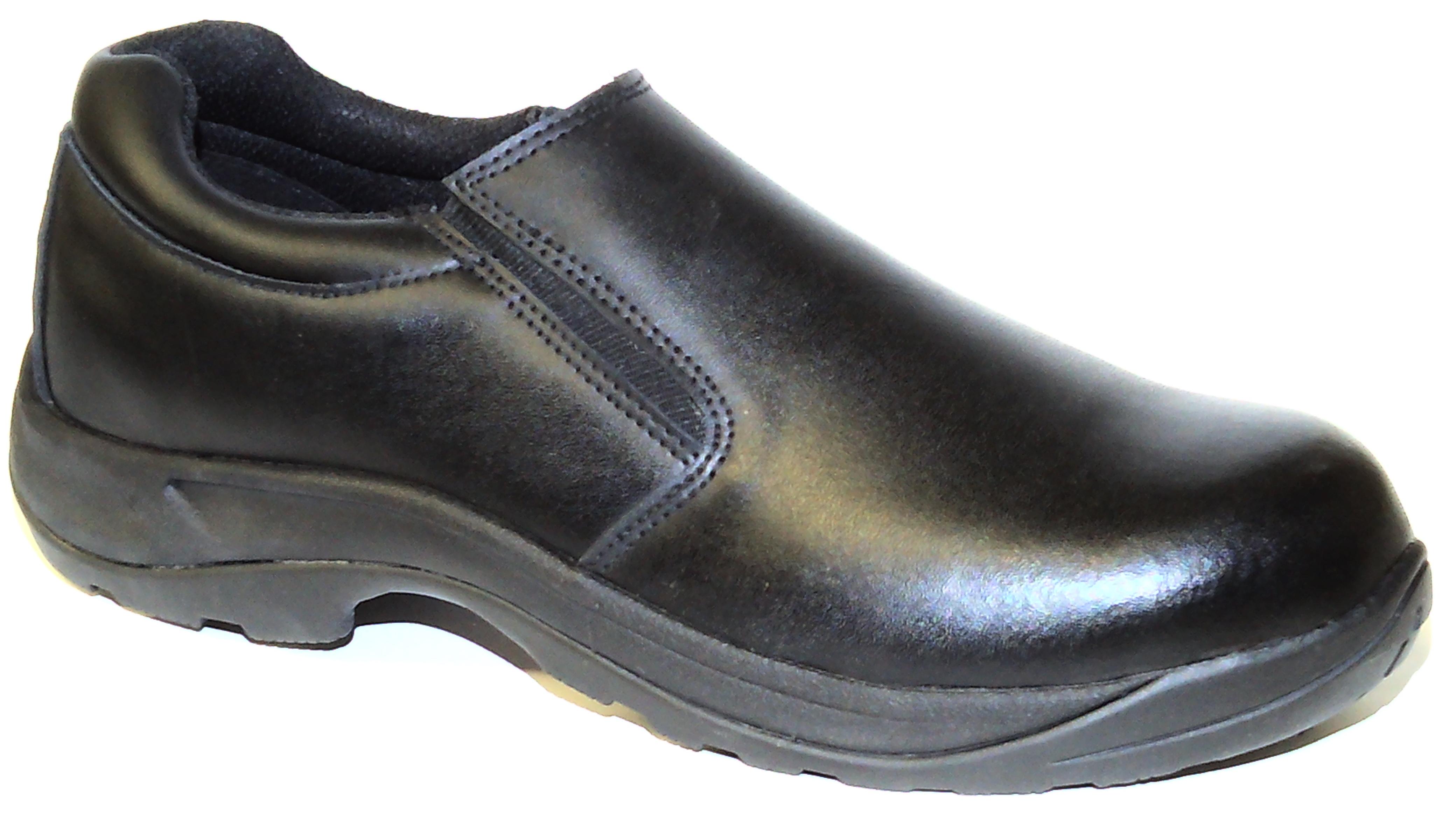 58100 CATERER SLIP ON SHOE BLACK S2