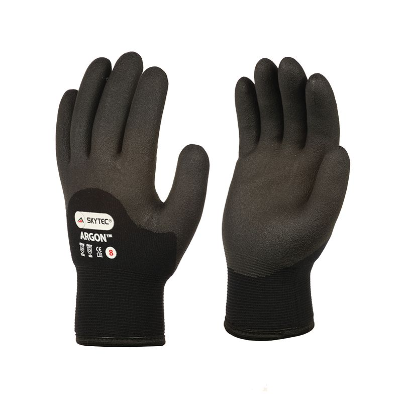 SKY08 ARGON THERMAL GLOVES BLACK