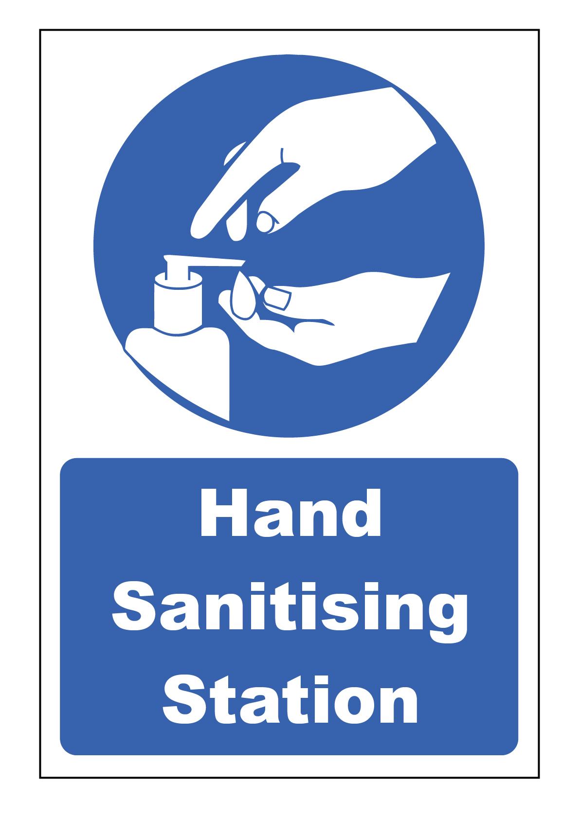 HSS-SA HAND SANITISING STATION 200 X