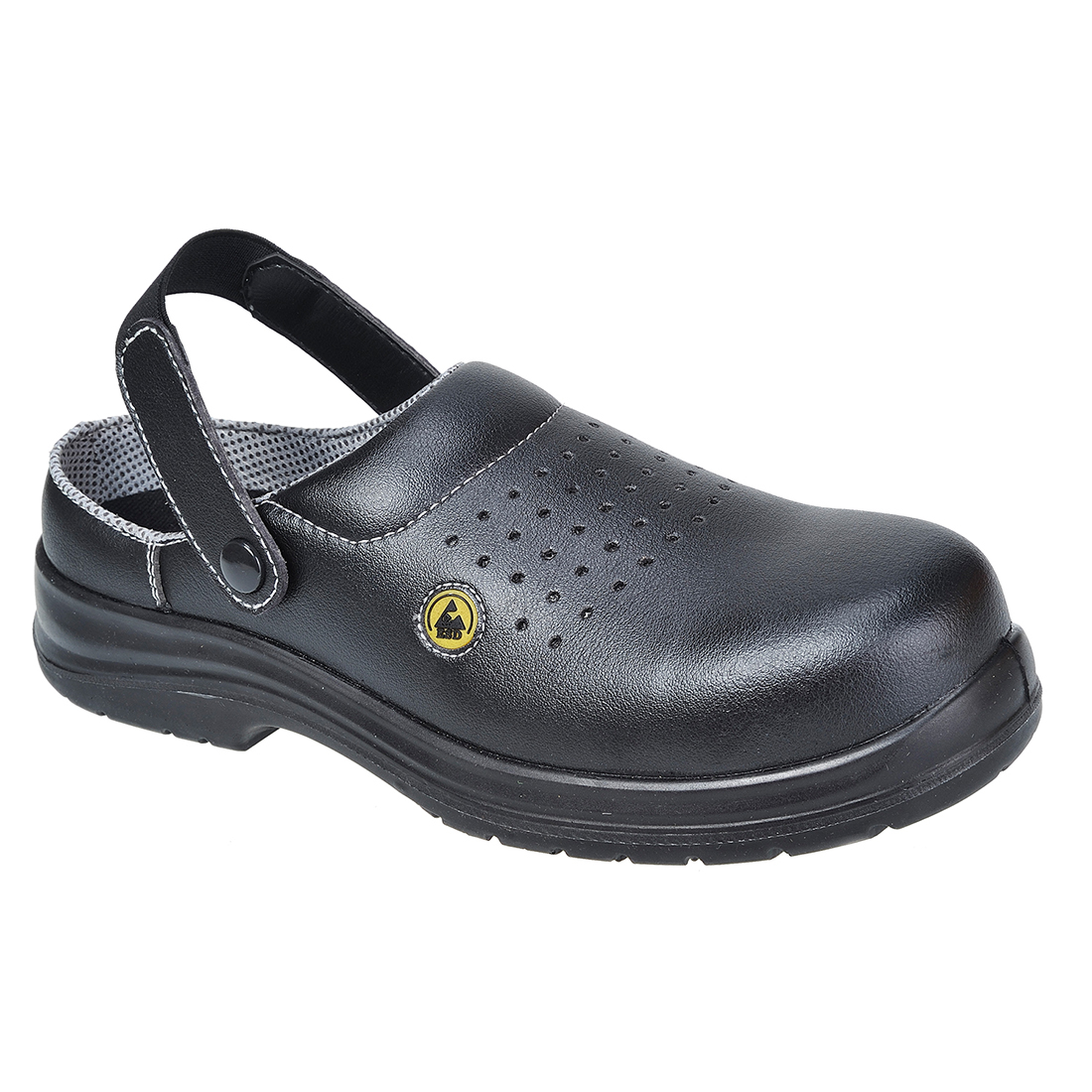 FC03/B BLACK ESD SAFETY CLOG SB