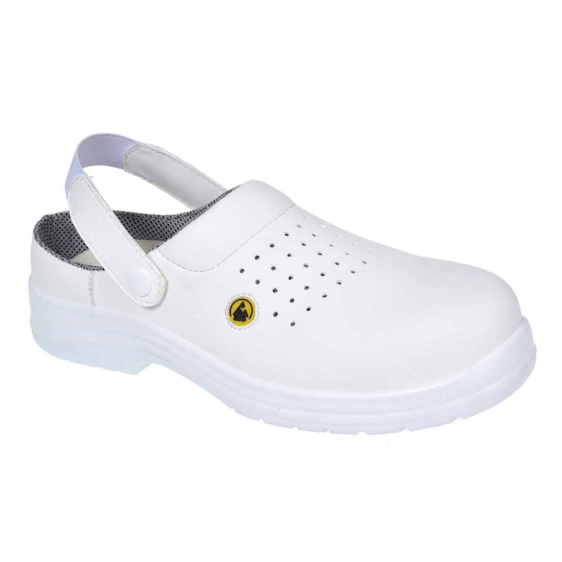 FC03/W WHITE ESD SAFETY CLOG SB