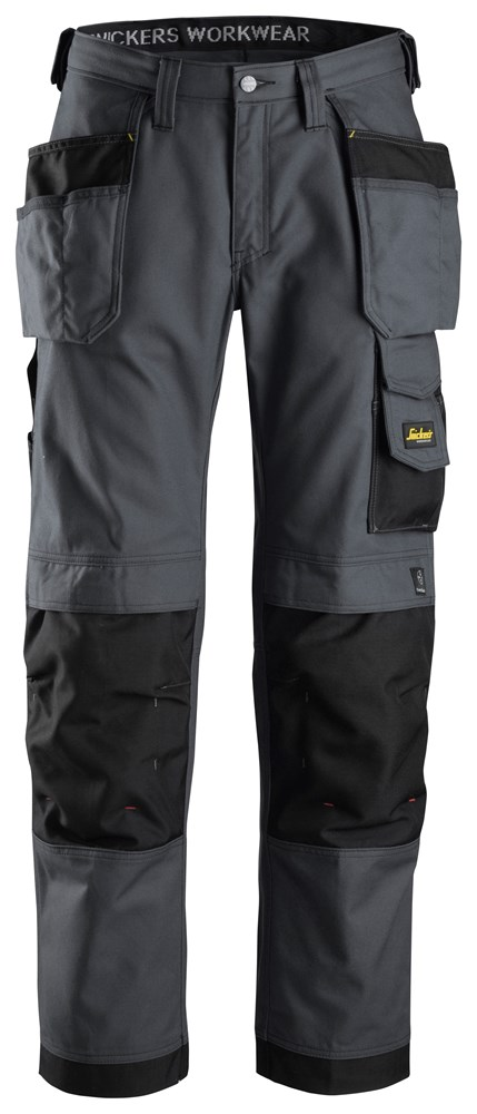 32145804XS CANVAS HOLSTER TROUSER STEEL