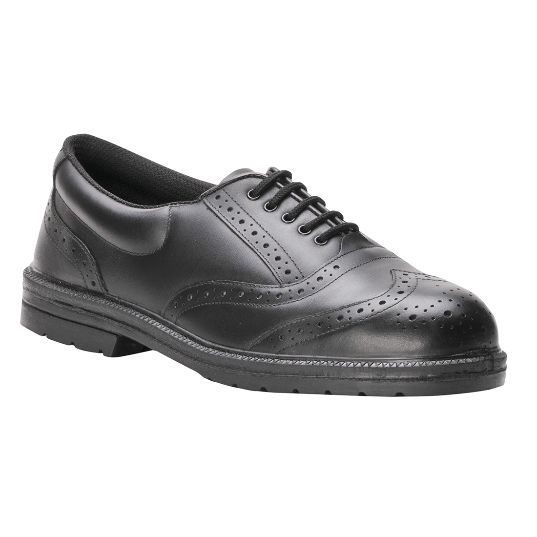 FW46/B STEELITE BROGUE BLACK S1P