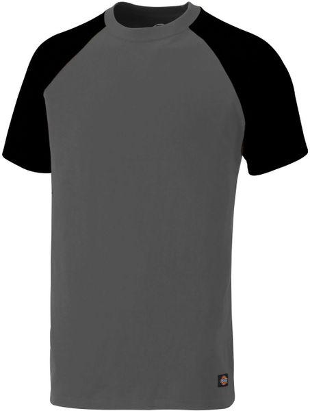 SH2007/UL TWO-TONE T-SHIRT GREY/BLACK