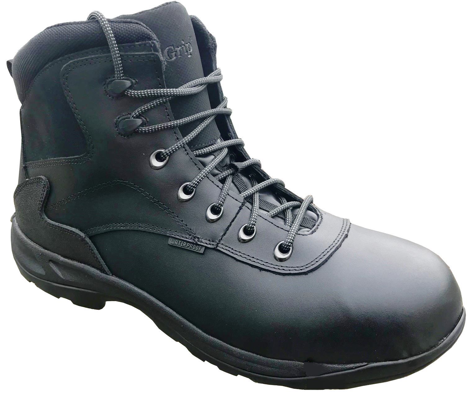 K55474 ENGINEER BLACK SAFETY BOOT S2
