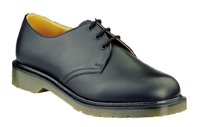 DM4 BLACK DR MARTEN SHOE 8249