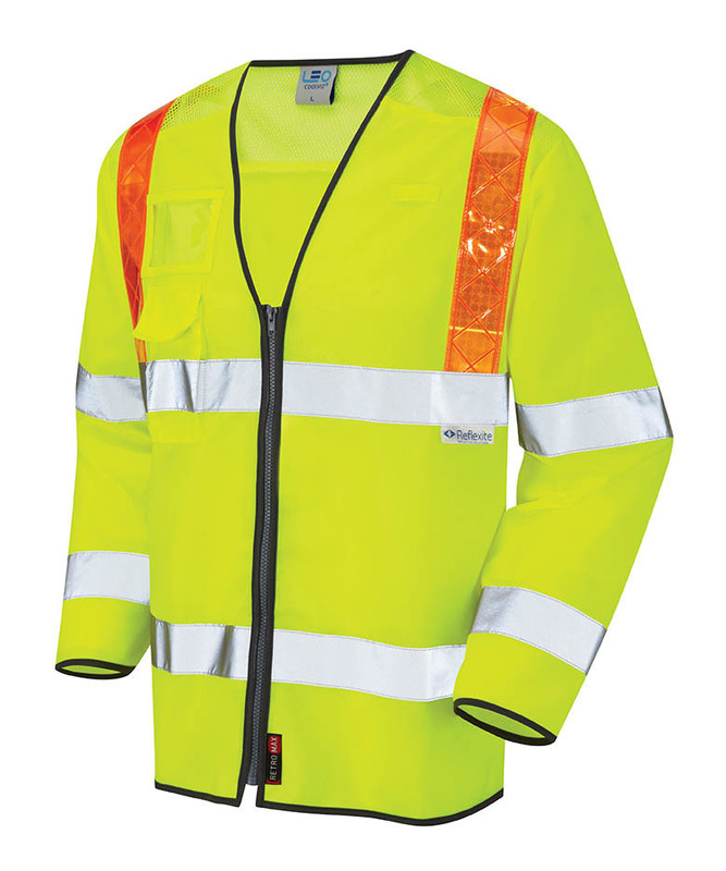 S13-Y HI-VIS BARBROOK YELLOW LONG