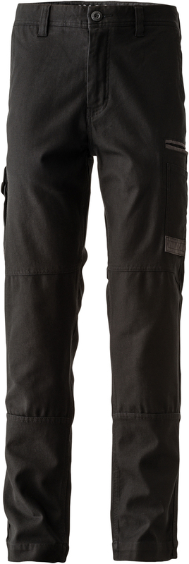 FXDWP-3/LR FXD WORKPANT BLACK REG LEG