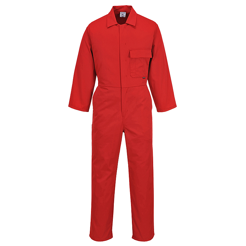 C802/DR STANDARD COVERALL RED REG