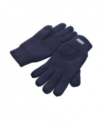 RS147/N RESULT THINSULATE GLOVES NAVY