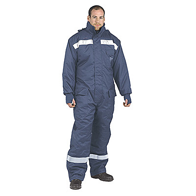 CS12 COLDSTORE COVERALL NAVY