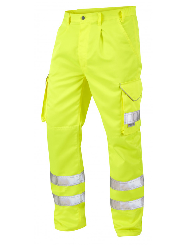 1381/T HI-VIS BIDEFORD YELLOW CARGO