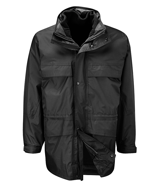 JKAN/L ANTARCTICA 3 IN 1 JACKET BLACK