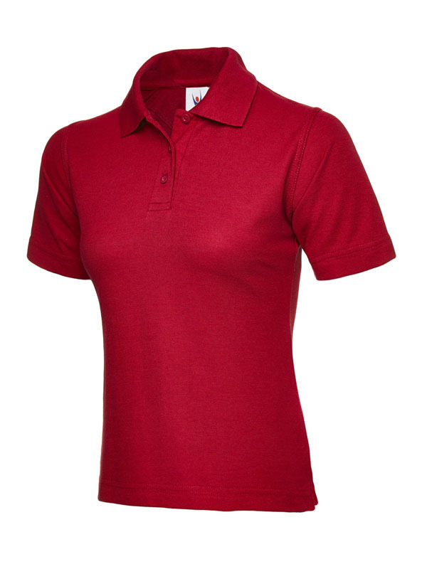 UC106/D LADIES POLO RED
