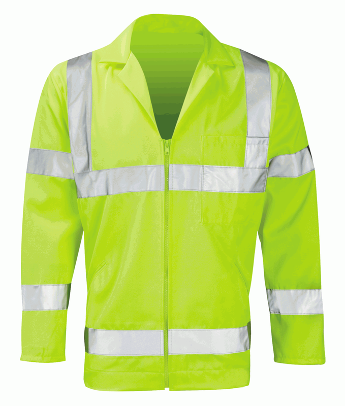 PCENJ HI-VIS POLY/COTTON JACKET