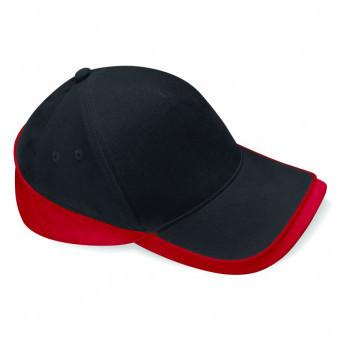 BB171/LD BEECHFIELD TEAMWEAR BLACK/RED