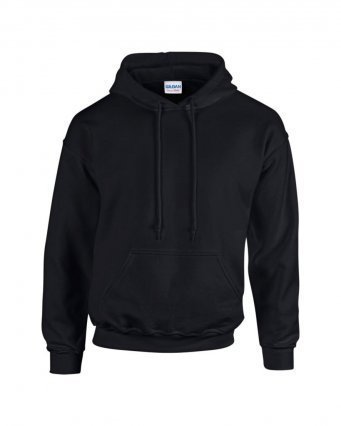 GD57/L HOODED SWEATSHIRT BLACK