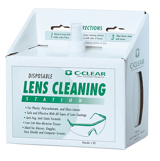 PA02 LENS CLEANING STATION