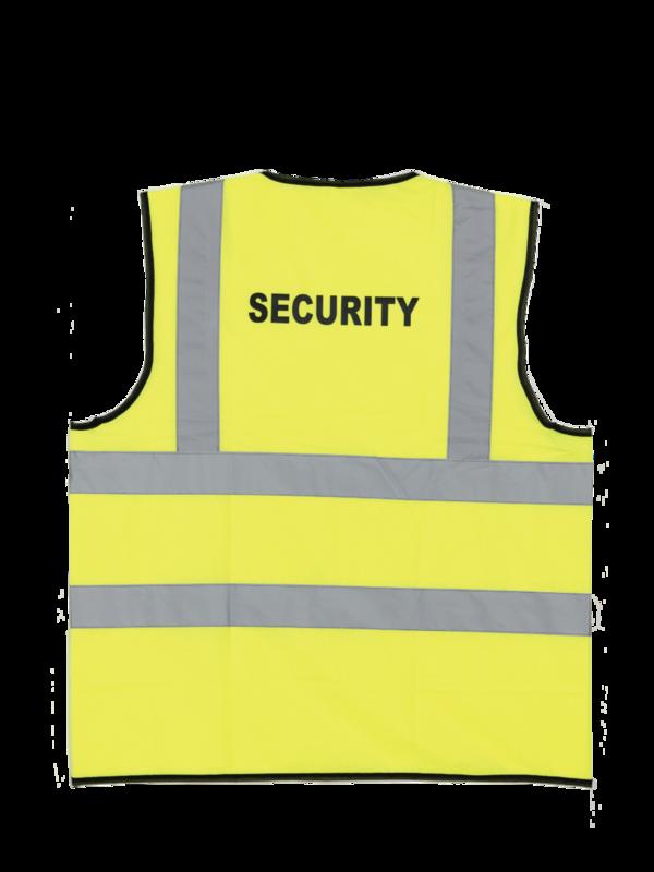 CJXB CJVL YELLOW WAISTCOAT+SECURITY
