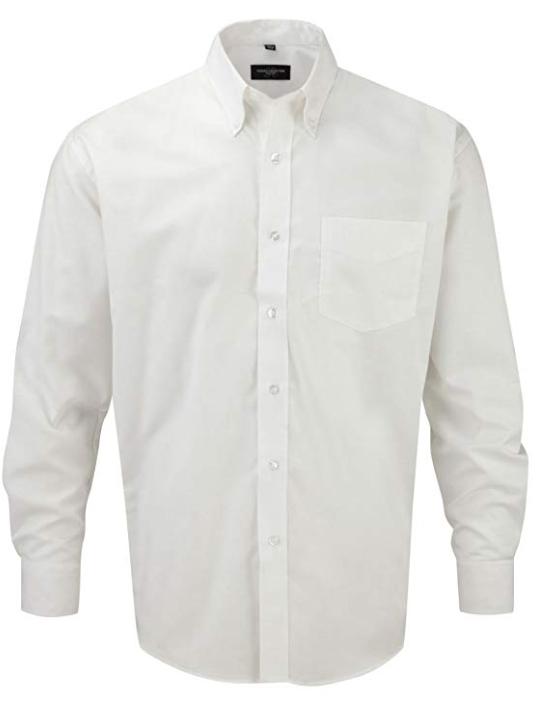 932M/W CLASSIC L/S SHIRT WHITE