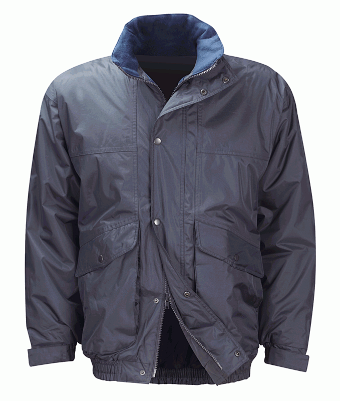 CCGP COURIER BOMBER JACKET NAVY -