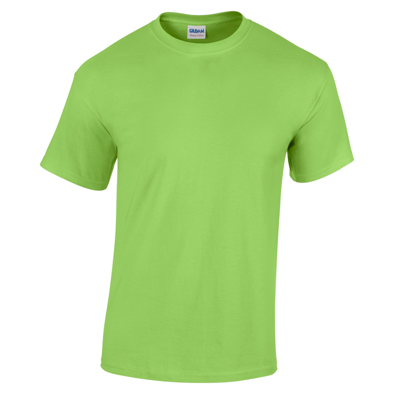 GD05/LIME GILDAN HEAVY T-SHIRT LIME