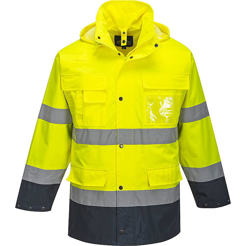 S162/YN 3 IN 1 HI-VIS JACKET YELLOW /
