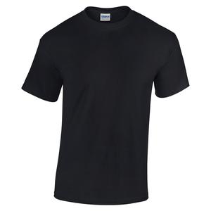 GD05/L GILDAN HEAVY T-SHIRT BLACK