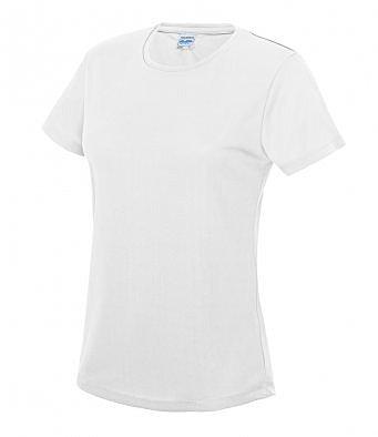 JC005/W GIRLIE COOL T-SHIRT WHITE
