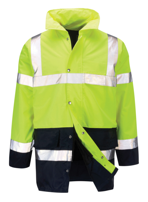 CJAR LAMORAK HI-VIS TWO TONE JACKET
