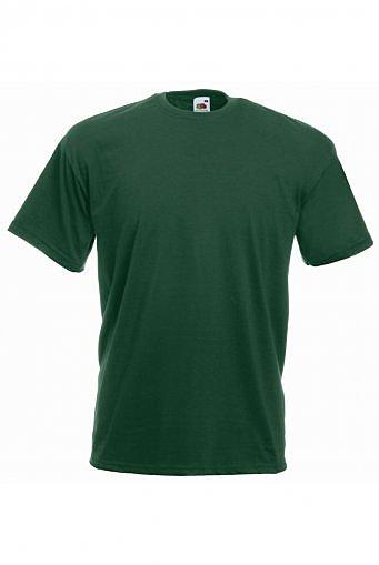 SS6/BG VALUE T-SHIRT BOTTLE GREEN