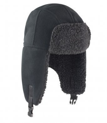 RC358/L SHERPA FLEECE HAT BLACK