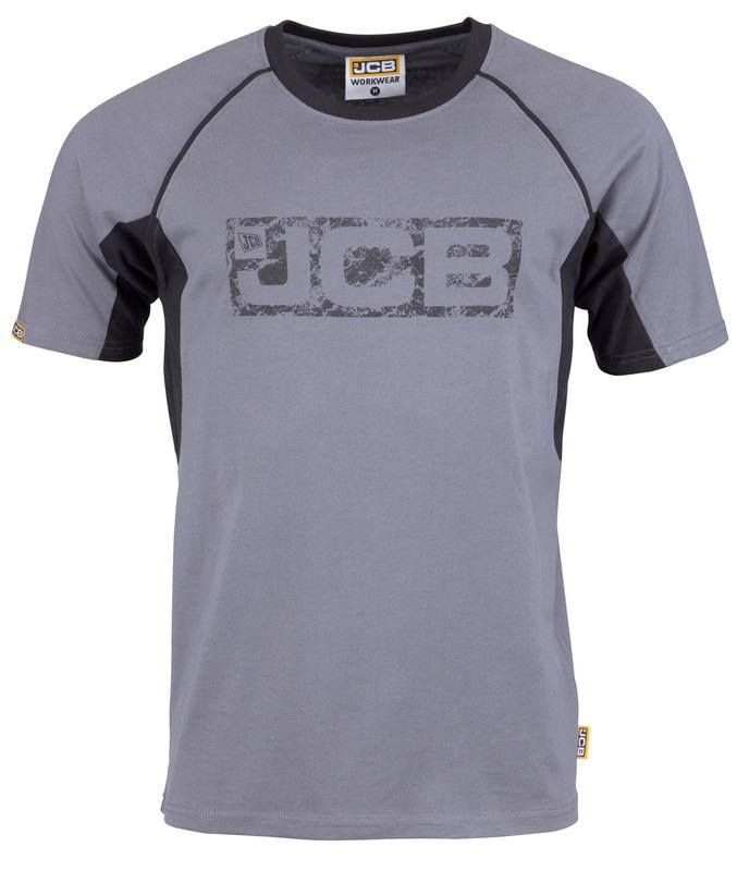 D+IC JCB TRADE GREY/BLACK T-SHIRT