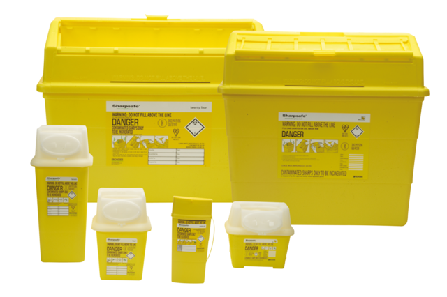 4603 SHARPS DISPOSAL CONTAINER 7LTR