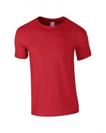 GD01/D SOFTSTYLE T-SHIRT RED