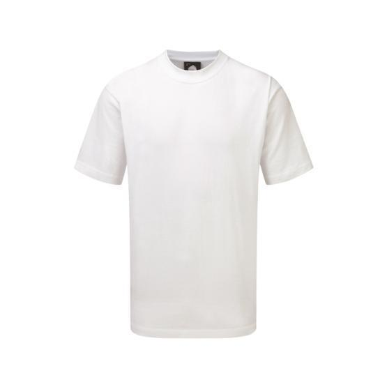 1005-15/W GOSHAWK DELUXE T-SHIRT WHITE