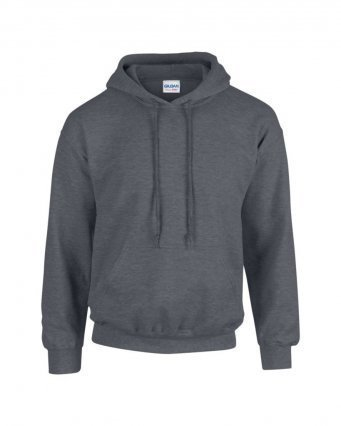 GD57/DH HOODED SWEATSHIRT DARK HEATHER