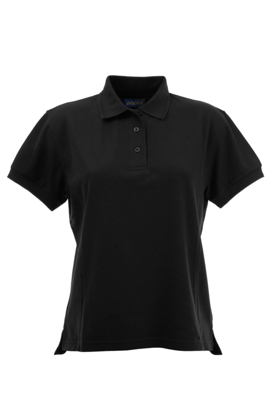 CPHH LADY FIT POLO BLACK