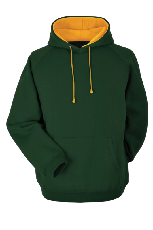 CL8B DELUXE HOODIE BOTTLE GREEN/
