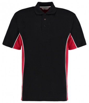 K475/LD GAMEGEAR POLO SHIRT BLACK/RED