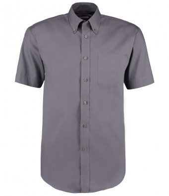 K109/C OXFORD SHIRT CHARCOAL SHORT