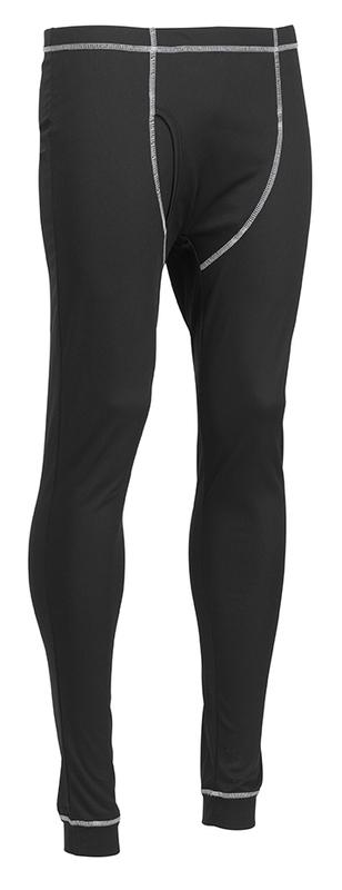 D+SB JCB BASE LAYER BLACK PANTS
