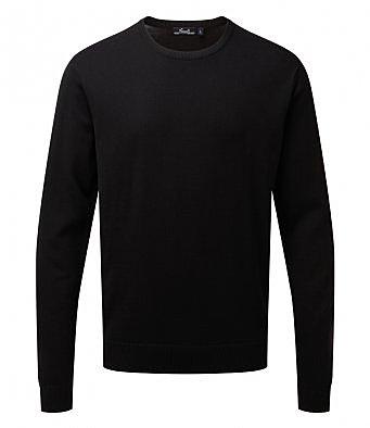 PR692/L CREW NECK SWEATER BLACK