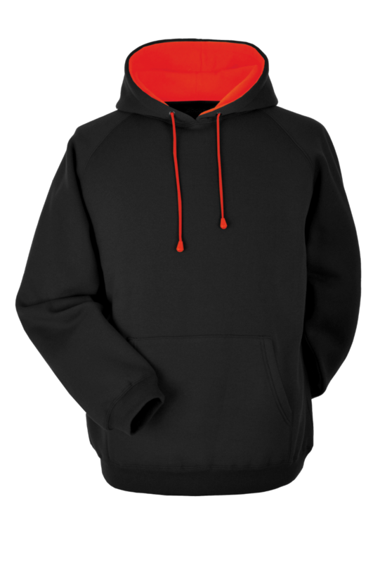CL8H DELUXE HOODIE BLACK/RED
