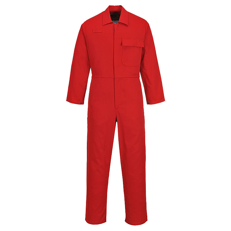 C030/DR CE SAFE-WELDER COVERALL RED