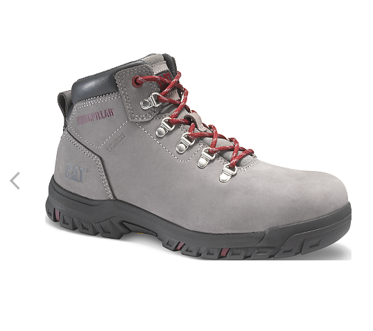 MAE/G CAT MAE GREY STEEL TOE LADIES