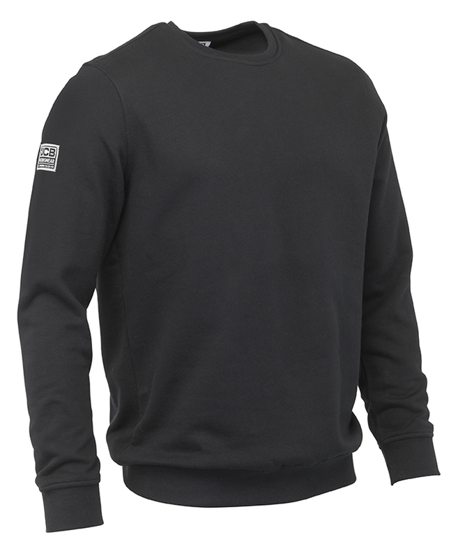 D+AB JCB ESSENTIAL BLACK SWEATSHIRT
